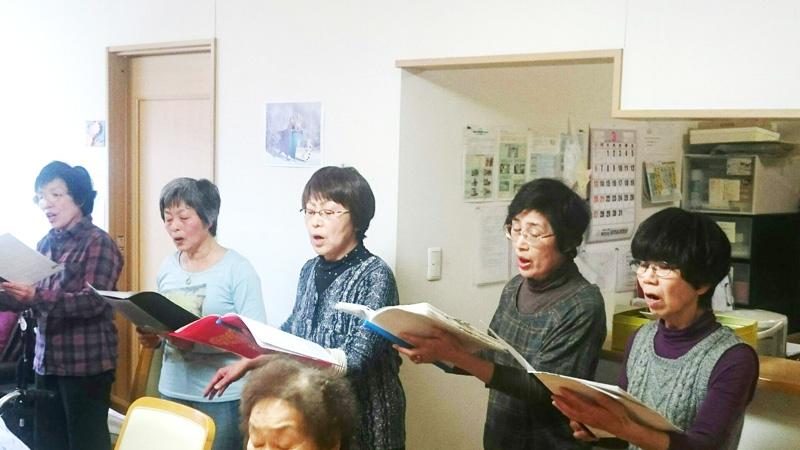 ラ・アレグリア合唱団の歌唱指導